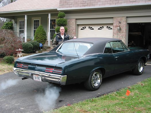 Robert St Thomas and his 1967 GTO